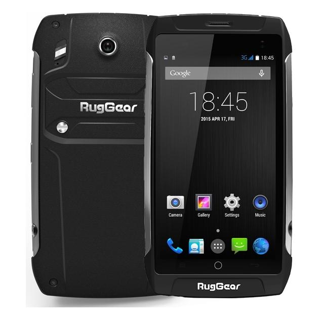 Смартфон RugGear RG730 Черный защищенный смартфон ruggear rg 500