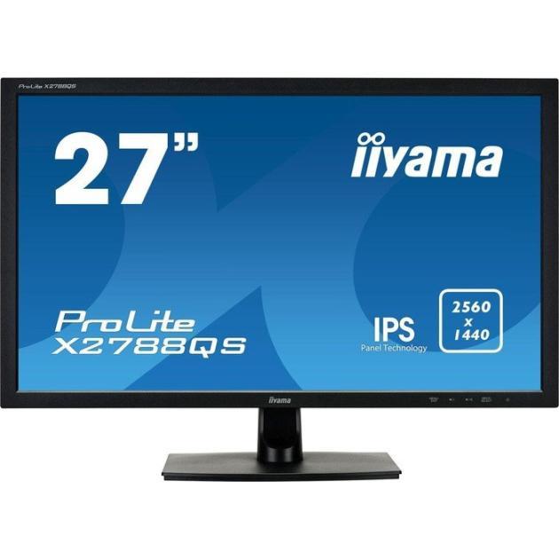 """все цены на  Монитор Iiyama ProLite X2788QS-B1 27"""", Черный, HDMI, 2560x1440, DisplayPort, Встроенные колонки  онлайн"""