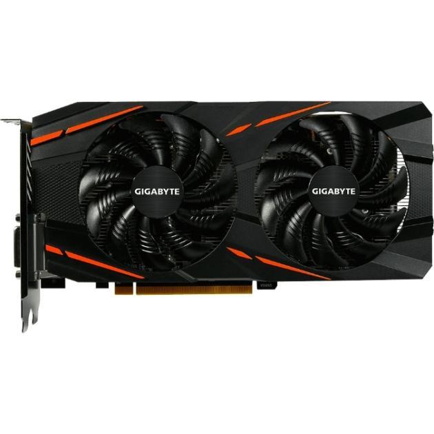 GIGABYTE Radeon RX 570 1244Mhz PCI-E 3.0 4096Mb 7000Mhz 256 bit DVI HDMI HDCP Gaming