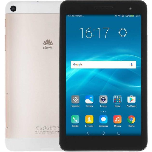 Планшет Huawei Mediapad T2 7.0 16Gb LTE Золотой планшет huawei mediapad t2 pro 16gb lte 10 black