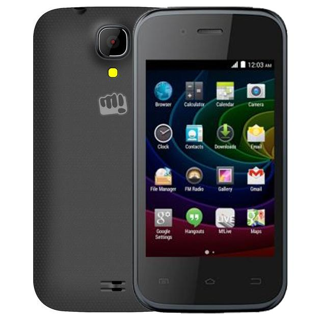 Смартфон Micromax Bolt D200 0.512Гб, Серый, Dual SIM смартфон micromax bolt q379 yellow