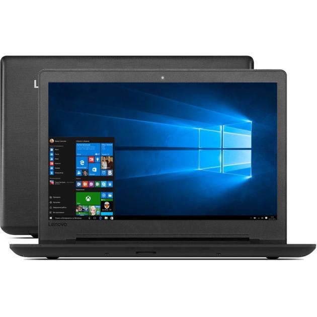 "Lenovo IdeaPad 110-15ACL 15.6"", AMD A8-7410, 2200МГц, 4Гб RAM, 1000Гб, Черный, Windows 10 Домашняя"