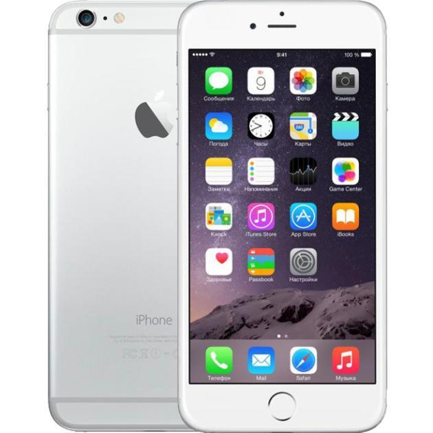 Смартфон Apple iPhone 6s Plus Как новый 16Гб, Серебристый, 1 SIM, 4G LTE, 3G