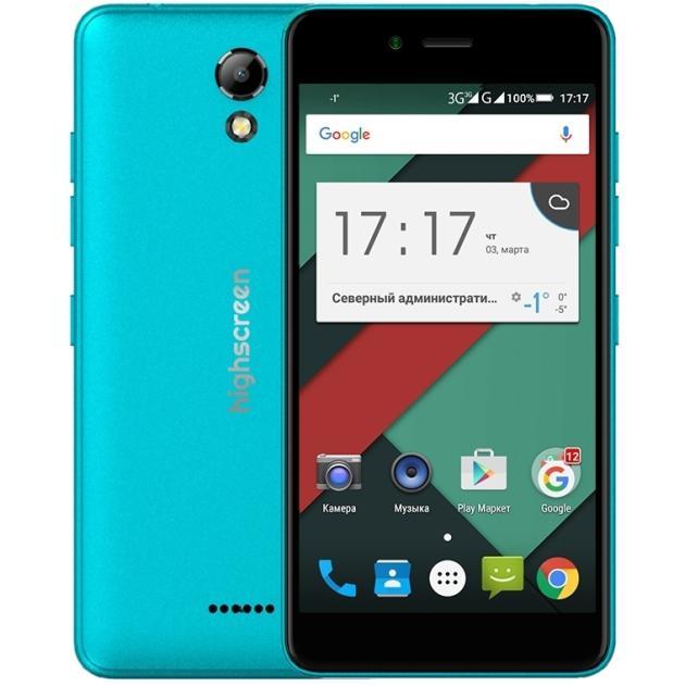 Смартфон Highscreen Easy S pro Голубой highscreen easy s pro black