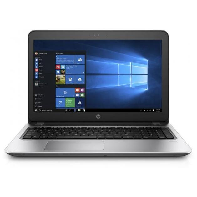Ноутбук HP Probook 450 G4 15.6, Intel Core i3, 2400МГц, 8Гб RAM, DVD-RW, 1Тб, Серый, Wi-Fi, Windows 10 Pro, Bluetooth