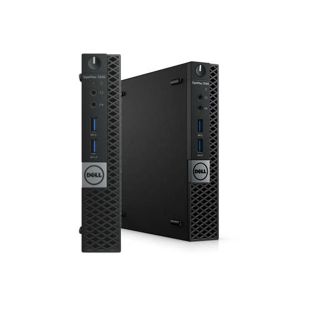 Dell Optiplex 7040-0125 Micro, 2500МГц, 8Гб, Intel Core i5, 256Гб