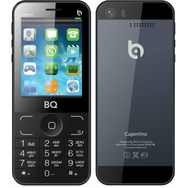BQ BQM-2606 Cupertino Серый, 0.032Гб