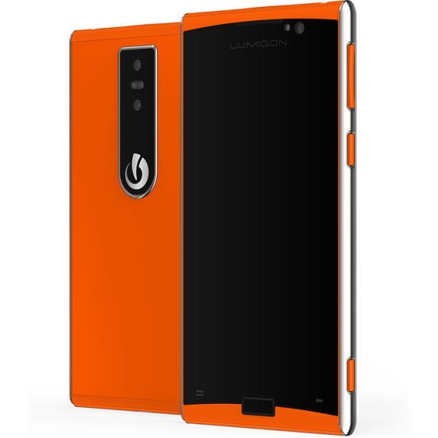 Смартфон Lumigon T3 Оранжевый