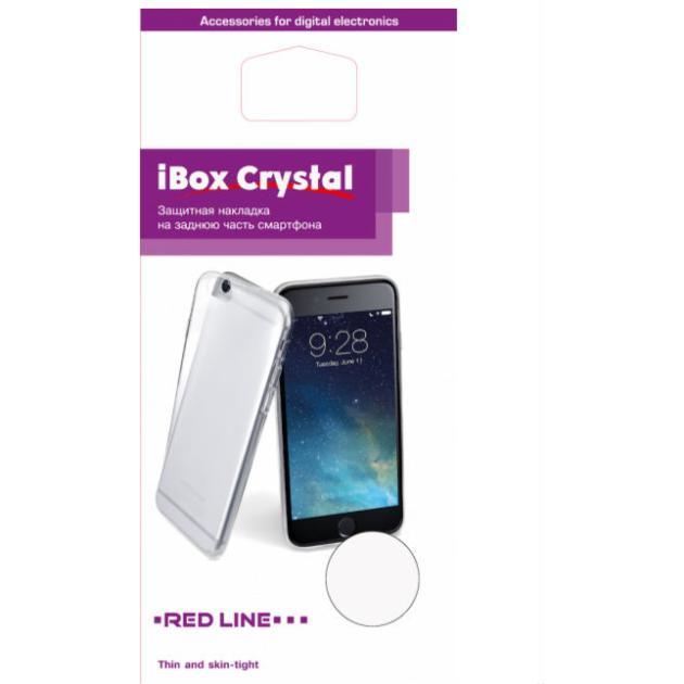"Red Line iBox Crystal для iPhone 5/5S/SE 4"", Красный"