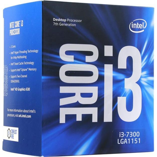 Процессор Intel Original Core i3 7300 Box процессор intel core i5 6400 2 7ghz 6mb socket 1151 box