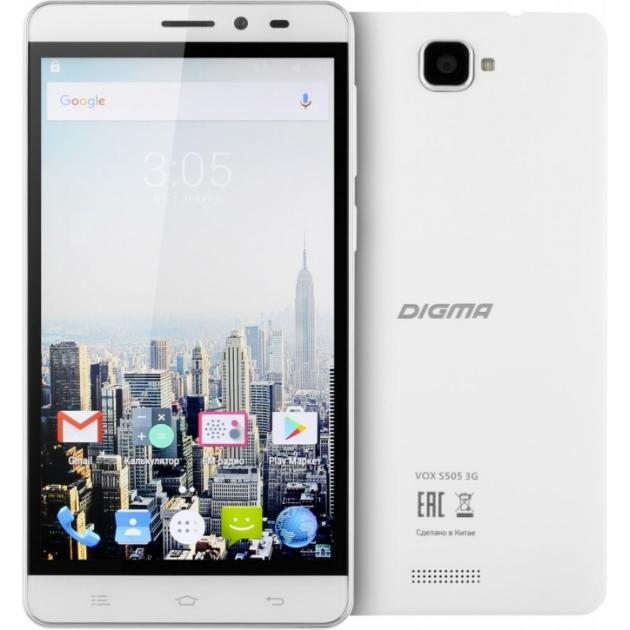 Digma Vox S505 3G Белый