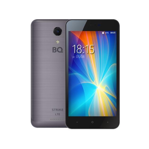 Смартфон BQ-Mobile BQ 5044 Strike Темно-серый bq mobile bq bqs 5050 strike selfie розовый