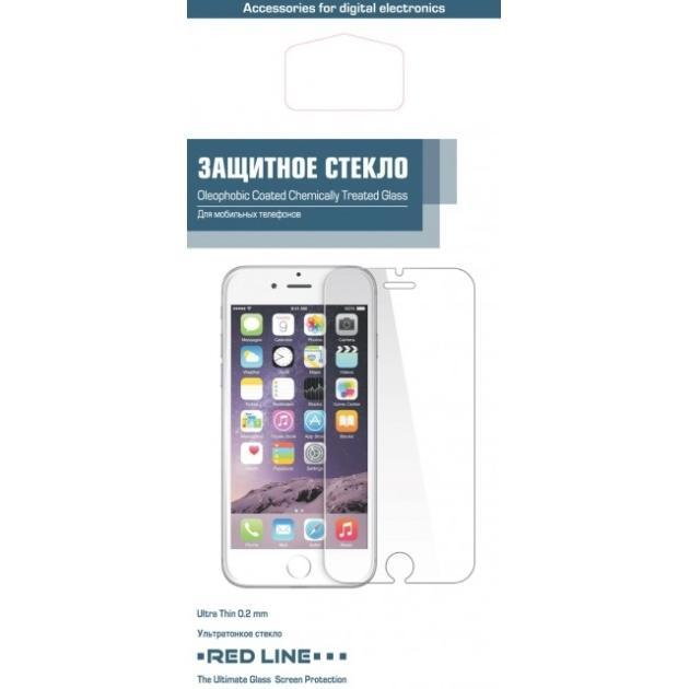 Пленка на экран Red Line Защитный экран Red Line для Apple iPhone 6/6S 0.2 мм стоимость
