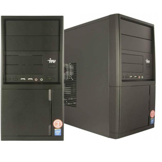 все цены на  Системный блок IRU Home 311 MT Intel Celeron, 2800МГц, 4Гб RAM, 500Гб, DOS, Черный  онлайн