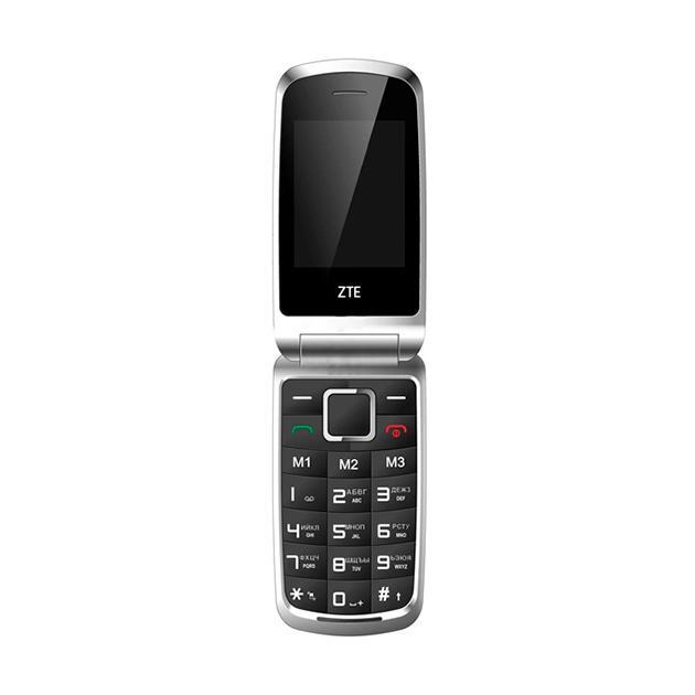 Мобильный телефон ZTE R340E черный Черный