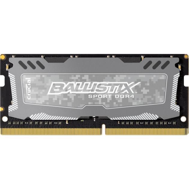 Crucial BLS8G4S240FSD DDR4, 8Гб, PC4-19200, 2400, SO-DIMM