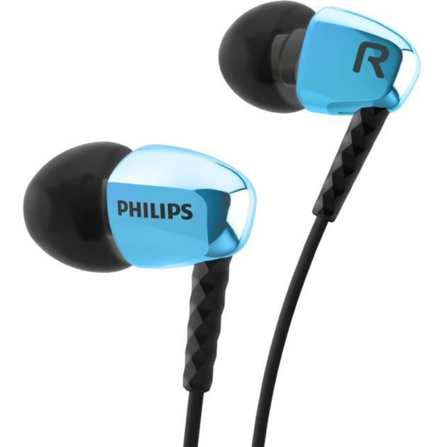 все цены на  Наушники Philips SHE3900/00 Синий  онлайн