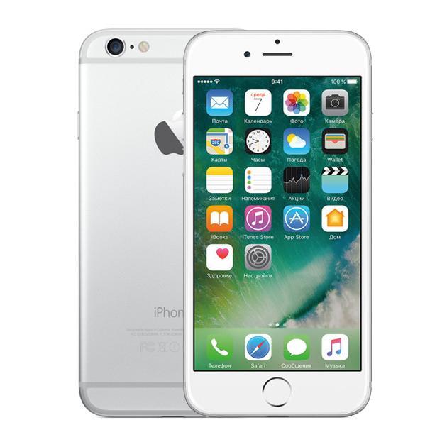 Смартфон Apple iPhone 6 Как новый Серебристый, 64Гб стоимость