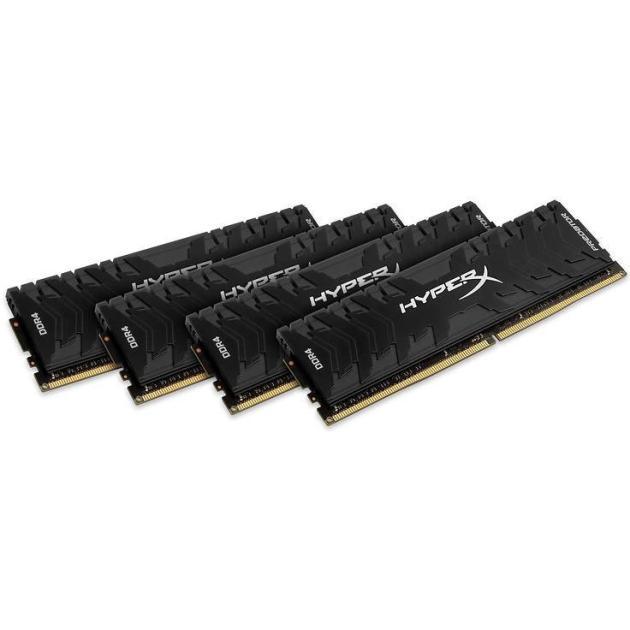 Kingston HyperX Predator HX432C16PB3K416 DDR4, 16Гб, PC4-25600, 3200МГц, DIMM