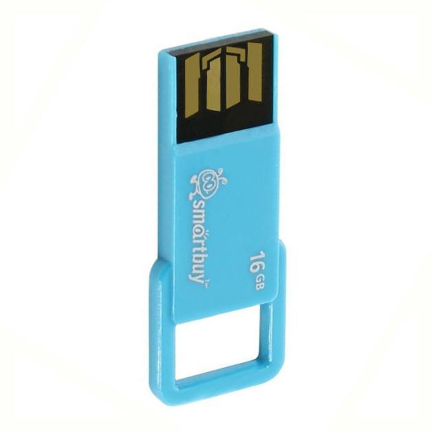 Флешка Smartbuy USB2.0 Smart Buy BIZ 16Гб, Голубой smartbuy smartbuy usb для apple ik 512 голубой ik 512c