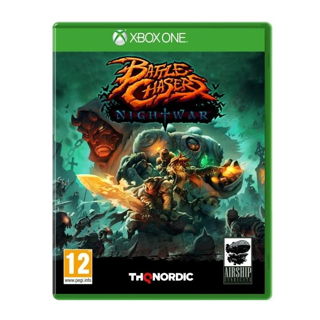 Xbox One: Battle Chasers: Nightwar Xbox One james phelan chasers alone