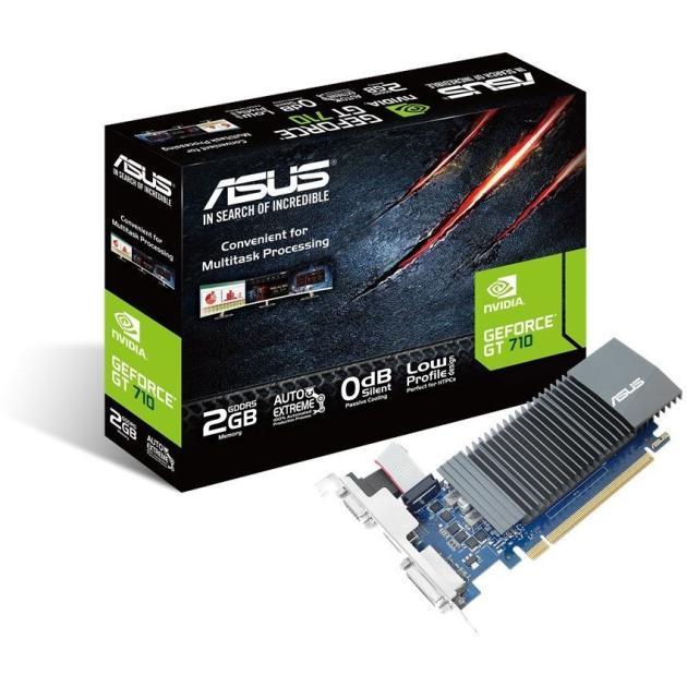 все цены на  Видеокарта Asus nVidia GeForce GT 710 GT710-SL-1GD5  онлайн