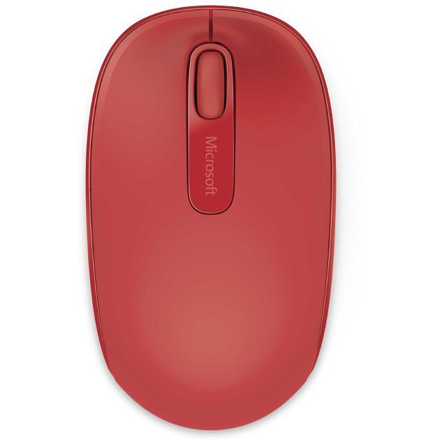 Microsoft Mouse Wireless Mobile 1850 Красный