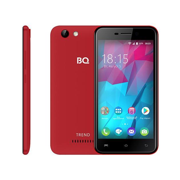 Смартфон BQ-Mobile BQ-5000L Trend смартфон bq mobile bq 5000l trend dark blue