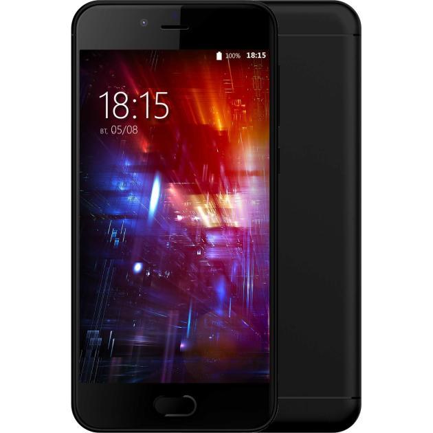 Смартфон BQ-Mobile BQ 5203 Vision Черный смартфон bq mobile vision black bq 5203