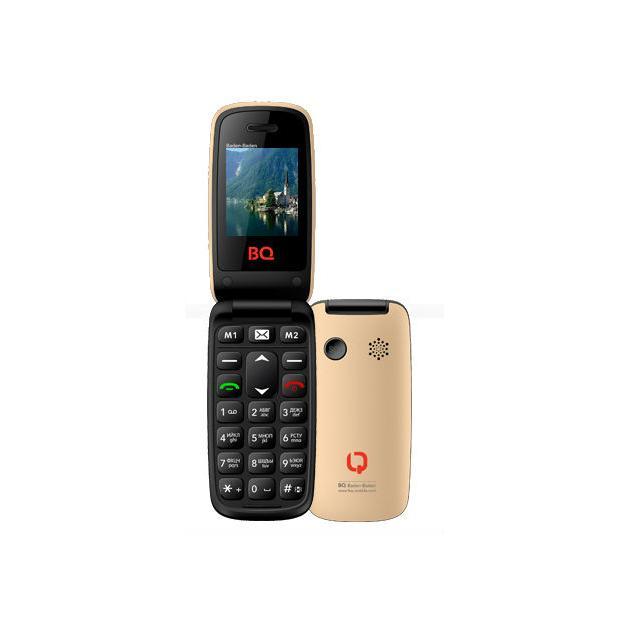 Мобильный телефон BQ-Mobile BQ BQM-2000 Baden-Baden Золотой bq bq bqm 2802 kyoto черный 0 032гб 2 sim