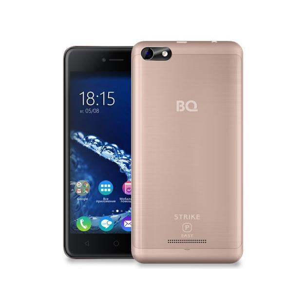 Смартфон BQ-Mobile BQ 5058 Strike Power Easy Розовый bq mobile bq bqs 5050 strike selfie розовый