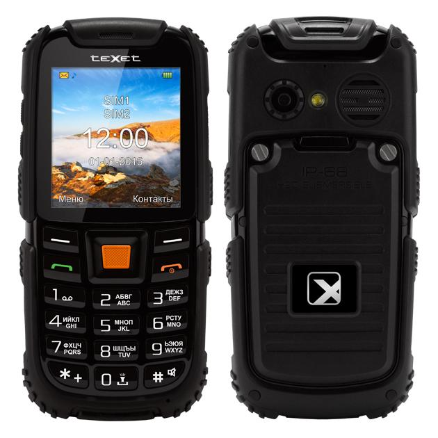 TeXet TM-500R Черный, 0.064Гб, 2 SIM