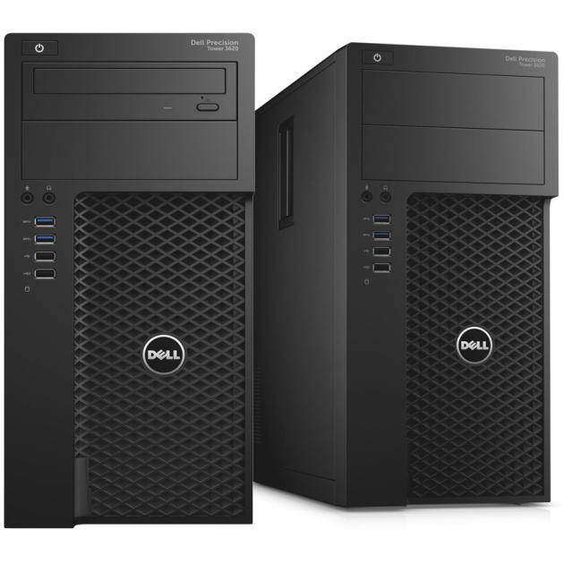 Системный блок Dell Precision T3620 3200МГц, 4Гб, Intel Core i5, 1000Гб компьютер dell optiplex 5050 intel core i3 7100t ddr4 4гб 128гб ssd intel hd graphics 630 linux черный [5050 8208]