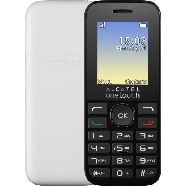 Alcatel One Touch 1020D Белый