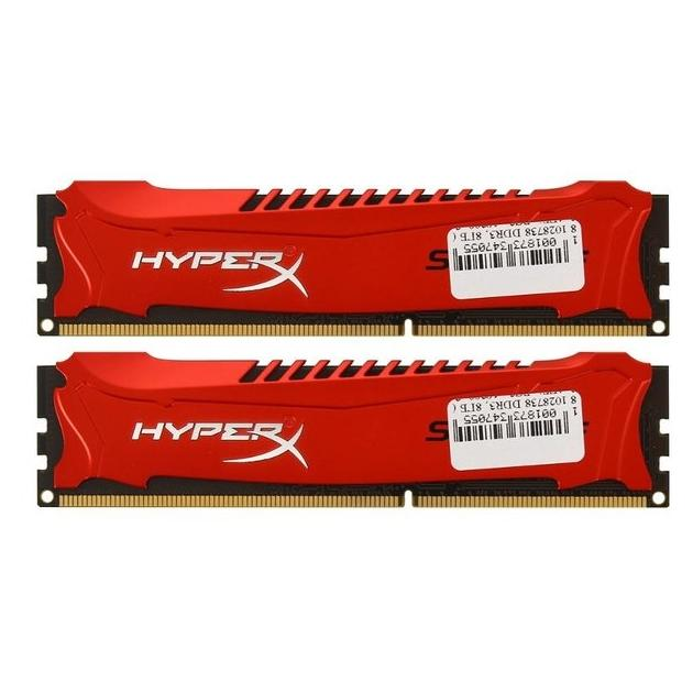 Kingston HyperX Savage HX316C9SRK28 DDR3, 2Гб, PC3-12800, 1600МГц, DIMM