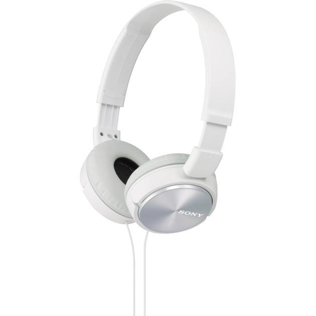 все цены на Наушники Sony MDR-ZX310 Белый онлайн