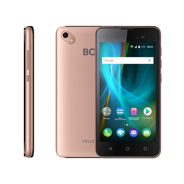 BQ Mobile BQ 5035 Velvet Розовое золото