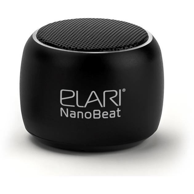 Портативная колонка Elari NanoBeat Черный аксессуар чехол elari для elari cardphone и iphone 6 plus blue