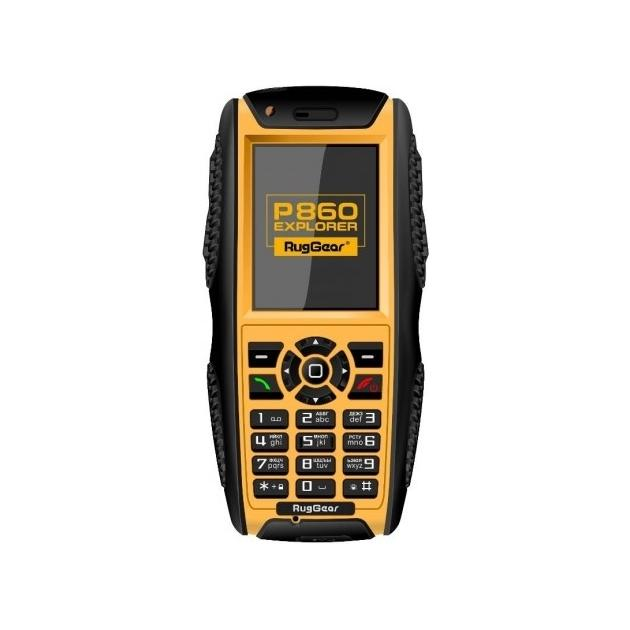 RugGear P860 Черный, 2 SIM, 3G