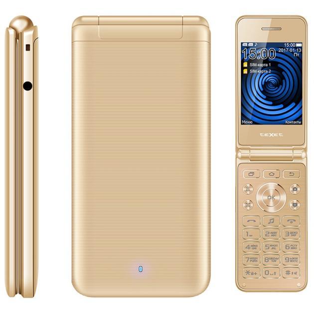 TeXet TM-400 Золотой
