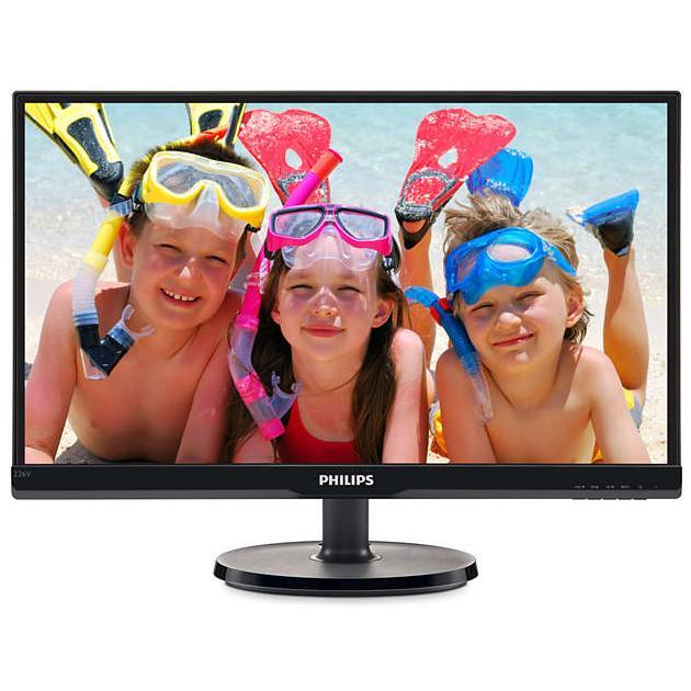 Монитор Philips 226V6QSB6/00 21.5, Черный, DVI, FHD телевизор philips 40pft4100 60 fhd pmr 100 черный