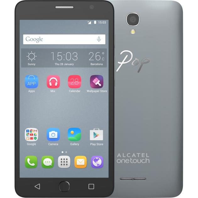 Смартфон Alcatel Pop Star 5070D Серый смартфон alcatel one touch pop star 4g 5070d slate
