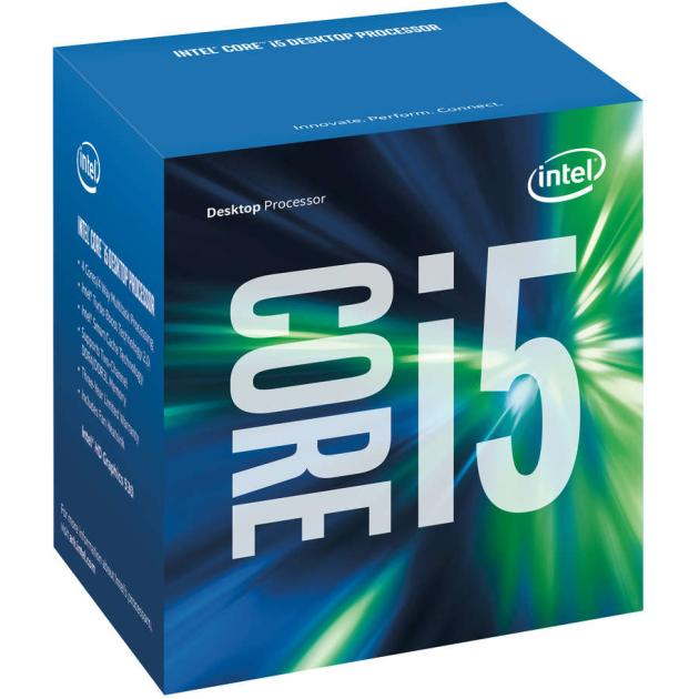 Intel Core i5-6500 Skylake 4 ядра, 3200МГц