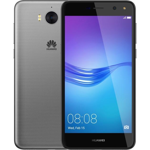 Смартфон Huawei Y5 2017 Серый смартфон huawei y5 2017 lte gold