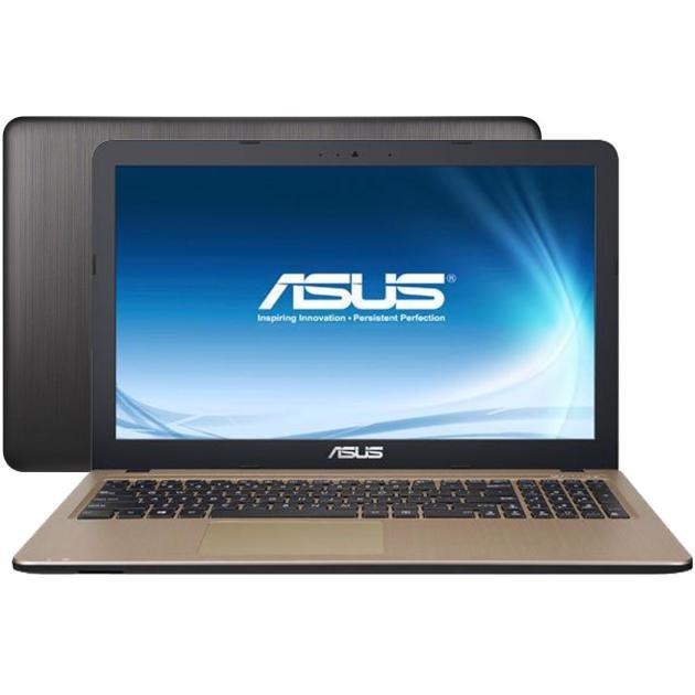 "Asus VivoBook X540SA-XX032D 15.6"", Intel Pentium, 1600МГц, 2Гб RAM, DVD нет, 500Гб, Коричневый, Wi-Fi, DOS, Bluetooth"