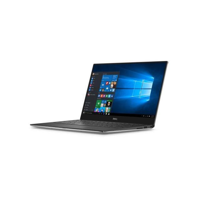Ноутбук Dell XPS 13 13.3 9360-0001, Intel Core i7, 2700МГц, 16Гб RAM, DVD нет, 512Гб, Серебристый, Wi-Fi, Windows 10 Pro, Bluetooth ноутбук dell xps 12 ultrabook 12 5 intel core m5 1100мгц 8гб ram dvd нет 128гб черный wi fi windows 10 bluetooth