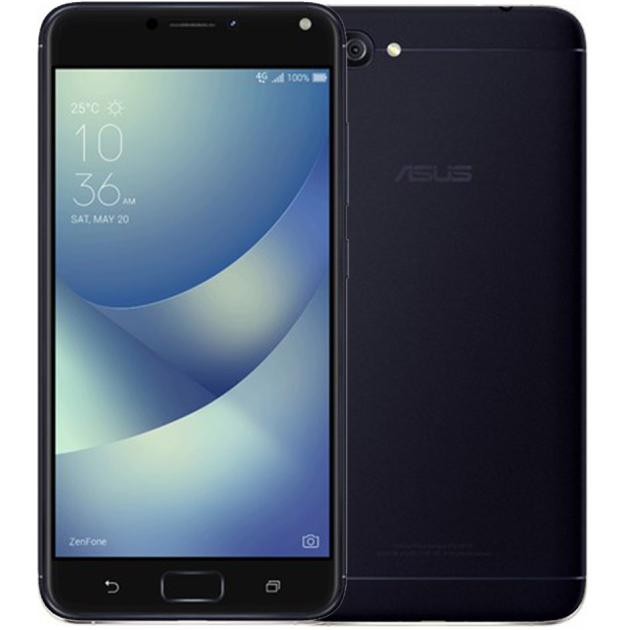 Смартфон Asus ZenFone Max ZF4 ZC554KL 16Гб, Черный, Dual SIM, 4G (LTE), 3G asus zenfone 2 laser 16gb ze500kl dual sim lte white