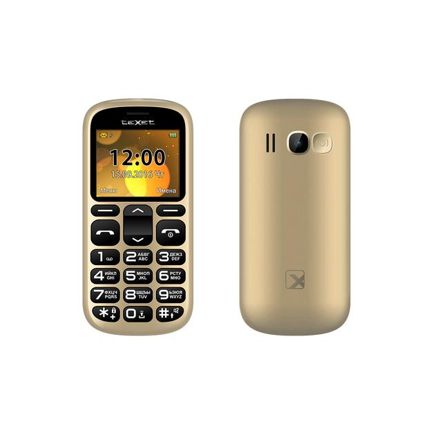 TeXet TM-B306 Золотой