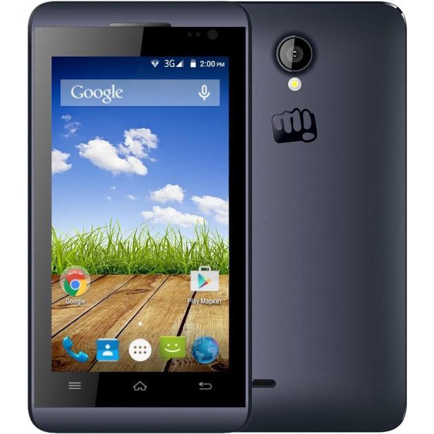 Micromax S302 4Гб, Синий, Dual SIM, 3G