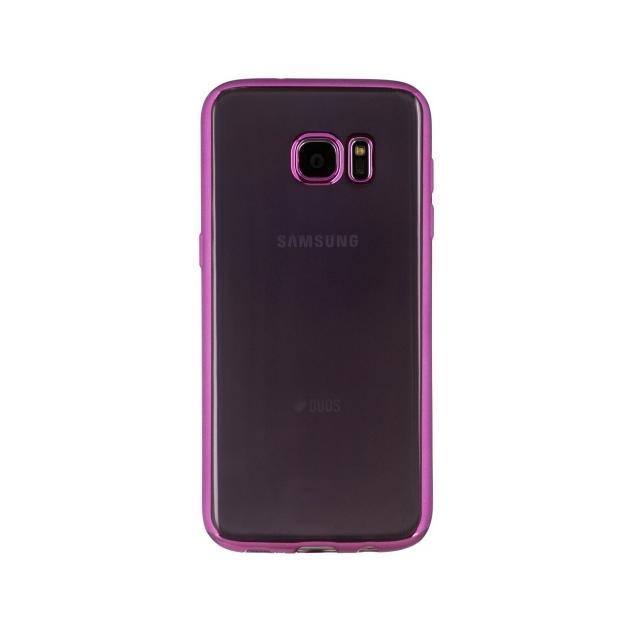 Red Line iBox Blaze для Samsung Galaxy S7 Edge розовая рамка